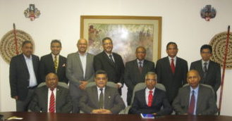 H.E. Ahmed A. Jawad with board of directors